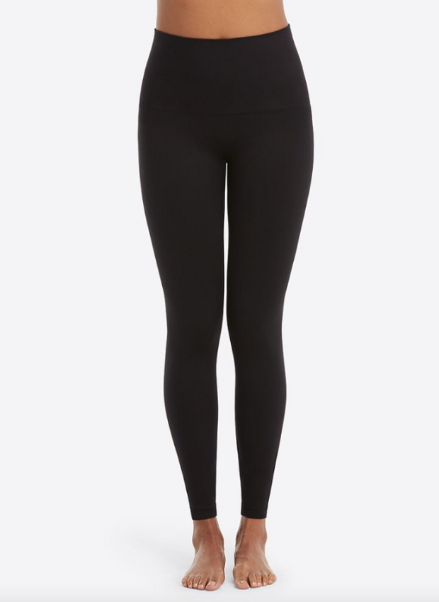 Spanx Look At Me Now Seamless Leggings - Very Black