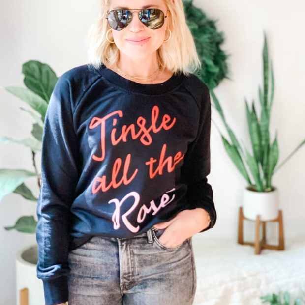 Jingle All The Rosé Sweatshirt