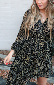 Lyonna Leopard Dress