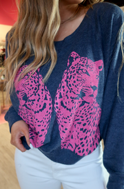 reflected wildcats sweatshirt