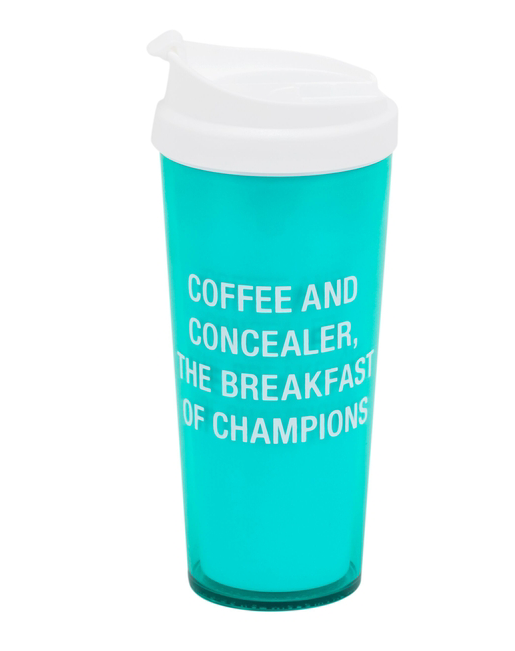 Coffee and Concealer Travel Mug