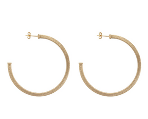 SF BR1207 Perfect Hoops - Champagne Gold