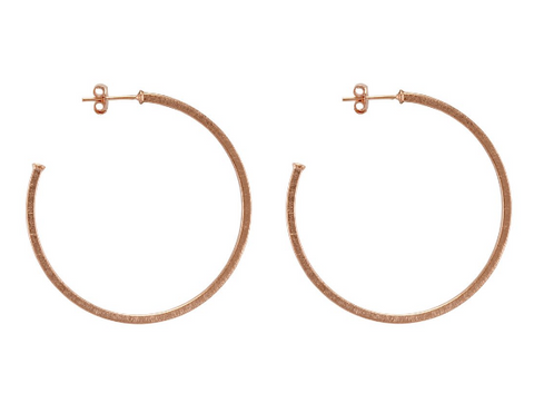 SF BR1207 Perfect Hoops - Rose Gold