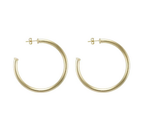 Sheila Fajl Petite Everybody's Favorite Hoops - Gold