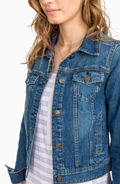 Southern Tide Denim Jean Jacket