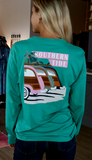 Southern Tide Woodies Tee - Clover Green