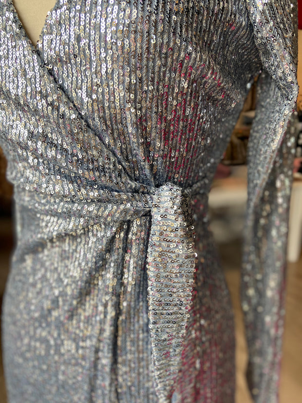 On the Rocks Sequin Dress