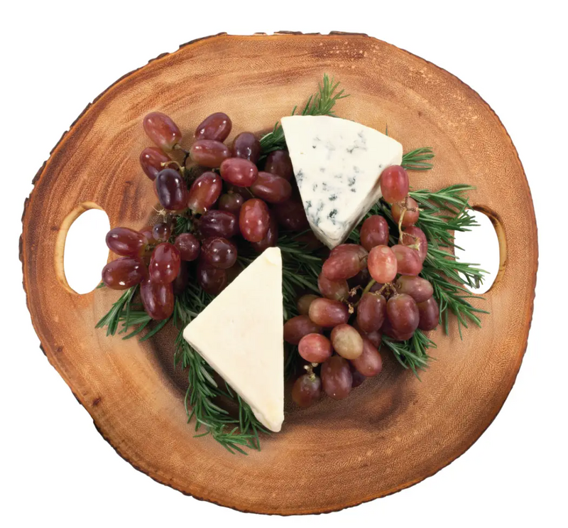 Special Order Rustic Round Charcuterie Board - Cason Couture