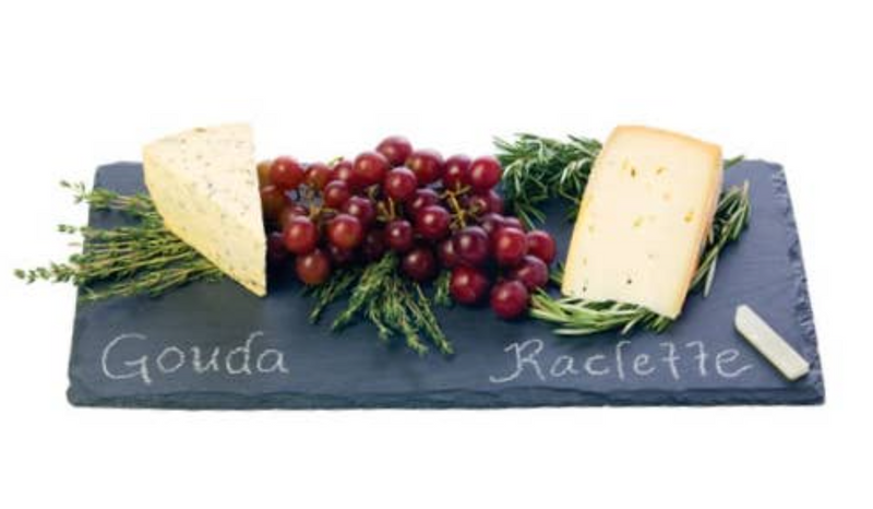 Slate Cheese Board and Chalk Set - Cason Couture