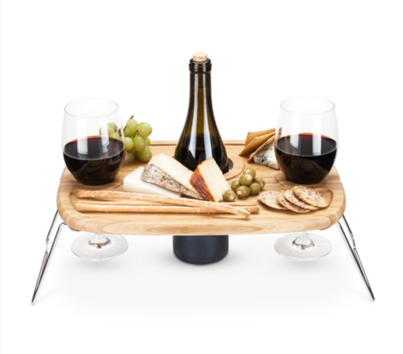 Special Order Portable Wine Picnic Table - Cason Couture