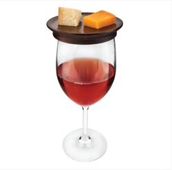 Wine Glass Topper Appetizer Plates - Cason Couture