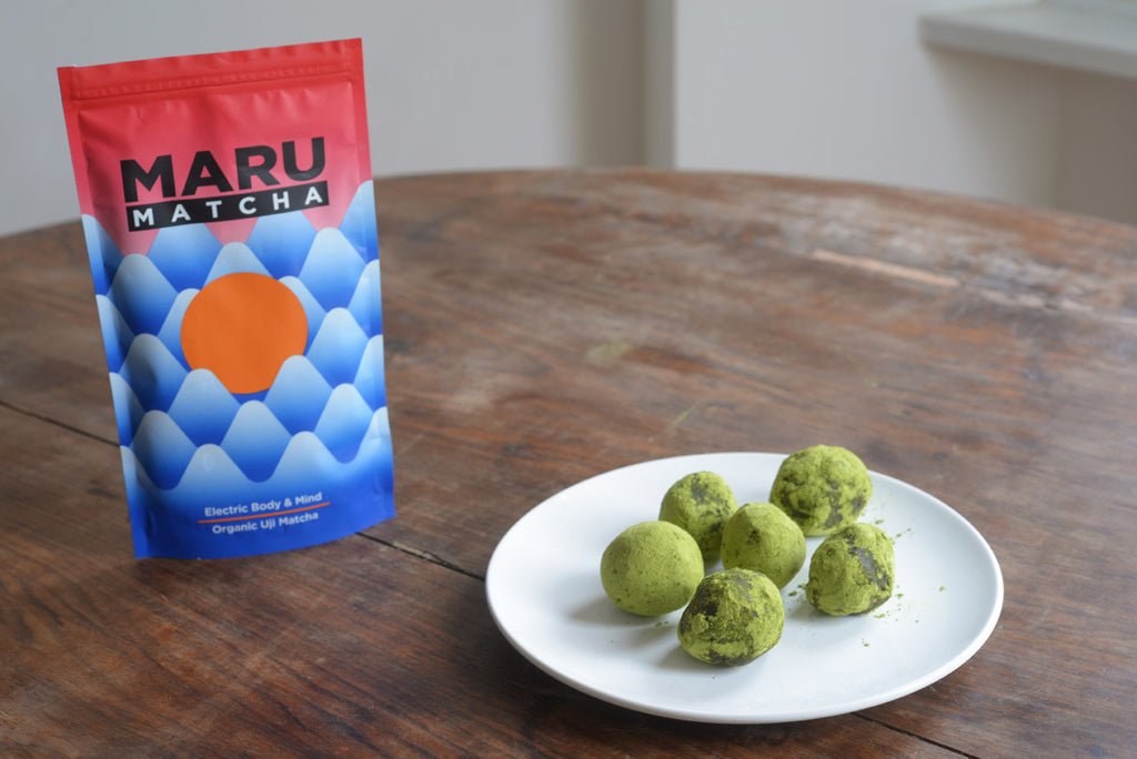 Matcha power ball recipe - Vegan, raw, ridiculously addictive.