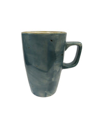 Rustic Ceramic Coffee Mugs 12oz