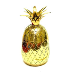 Golden Pineapple Tumbler