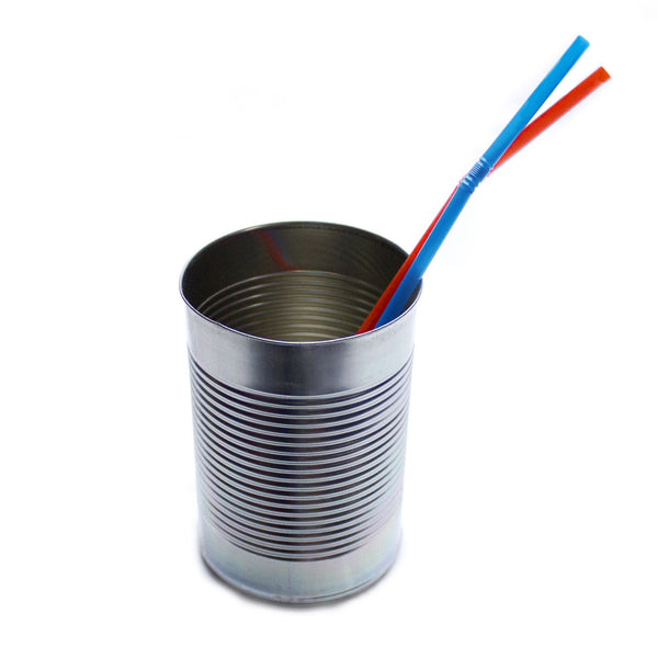 Tin Can Drinking Vessel