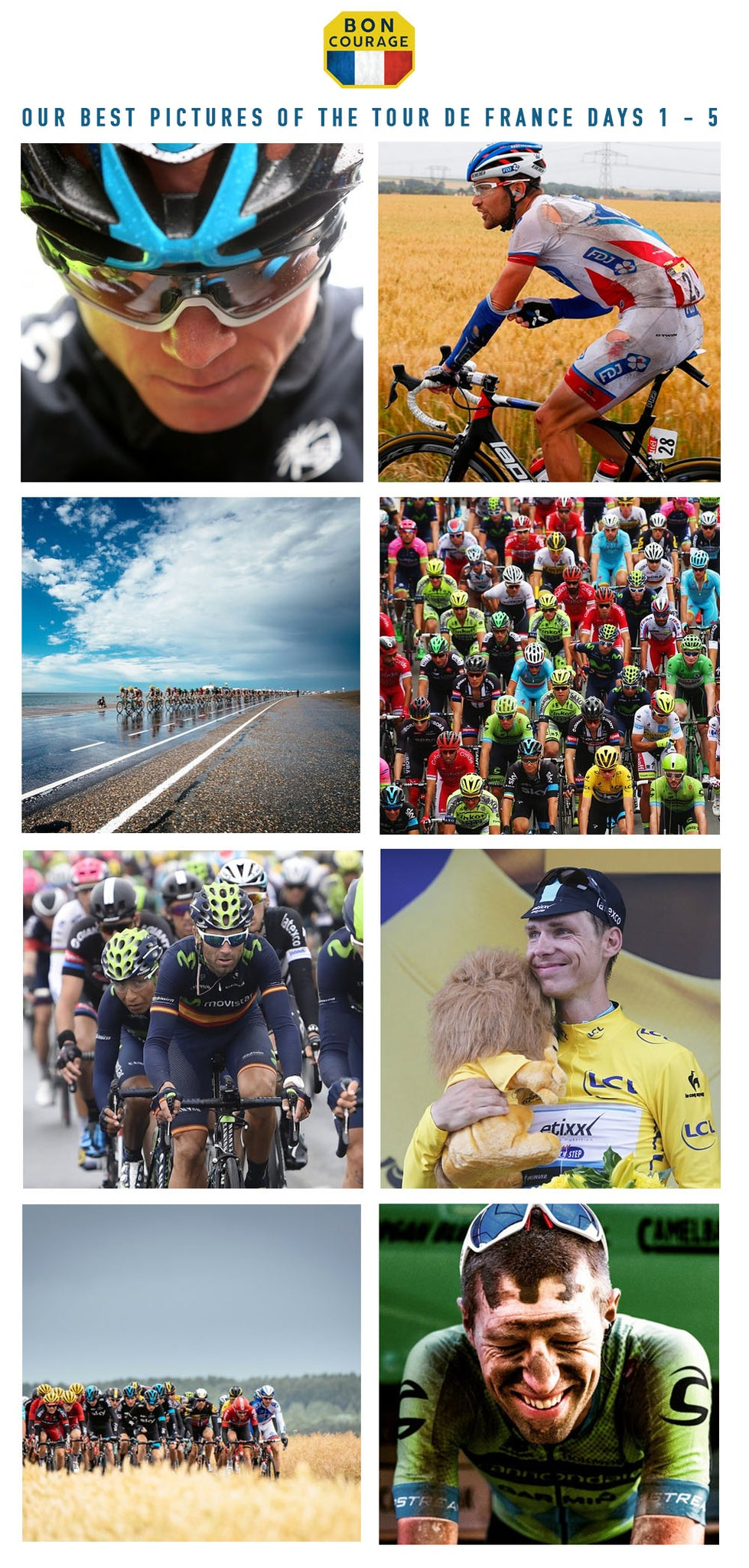 DAY 6 - Our favourite photos of the Tour de France so far