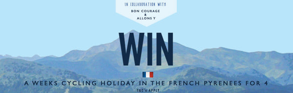 WIN A CYCLING HOLIDAY IN THE FRENCH PYRENEES FOR 4