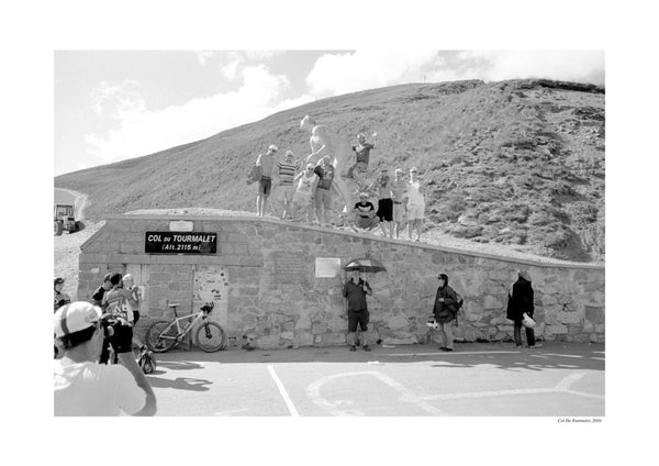'Les Deux Cols' Photography - Top of the Tourmalet