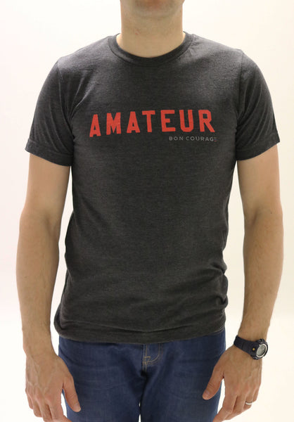 'Amateur' statement T-shirt