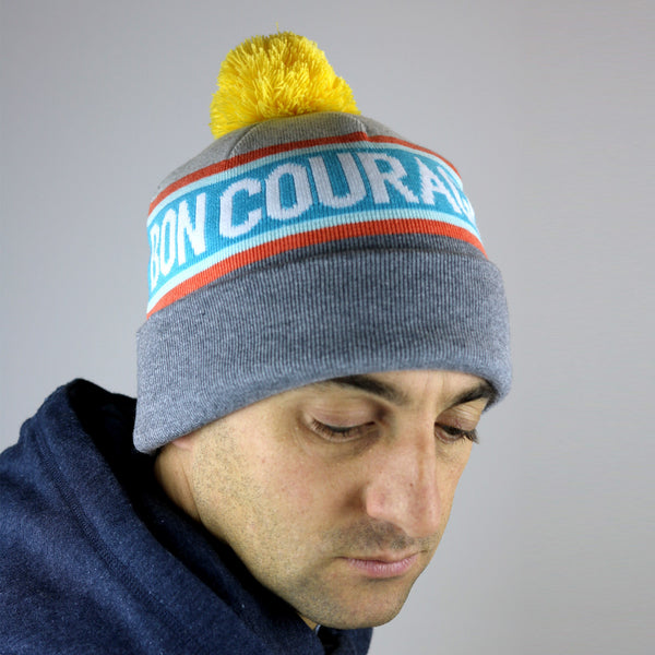 Bon Courage Knitted Beanie