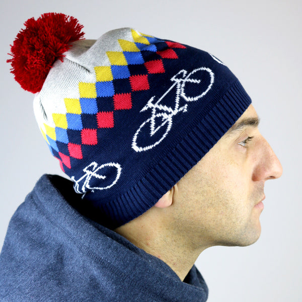 Cycle knitted hat