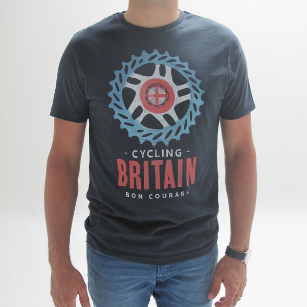 'Cycling Britain' graphic T Shirt