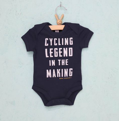 'Cycling Legend in the Making' Babygro