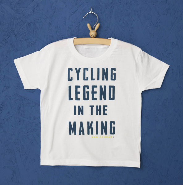 'Cycling Legend in the making 'Kids Tshirt