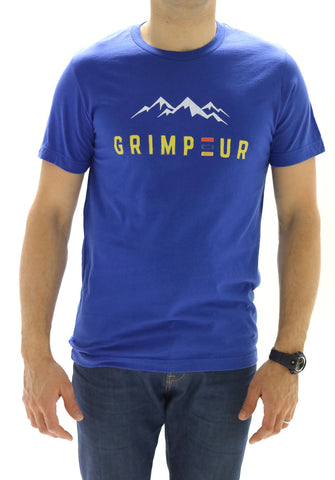 'Grimpeur' statement T-shirt