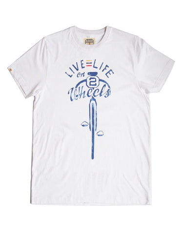 'Live life on 2 wheels' T-shirt