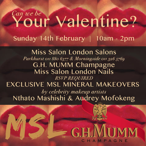 VALENTINES fun at the salons