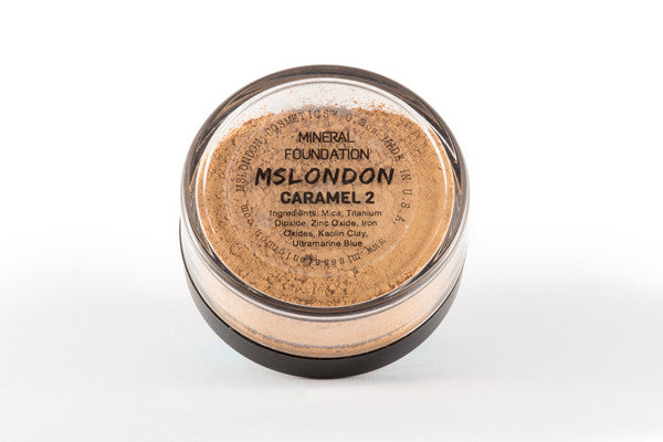 MSLondon Caramel 2 Mineral Foundation
