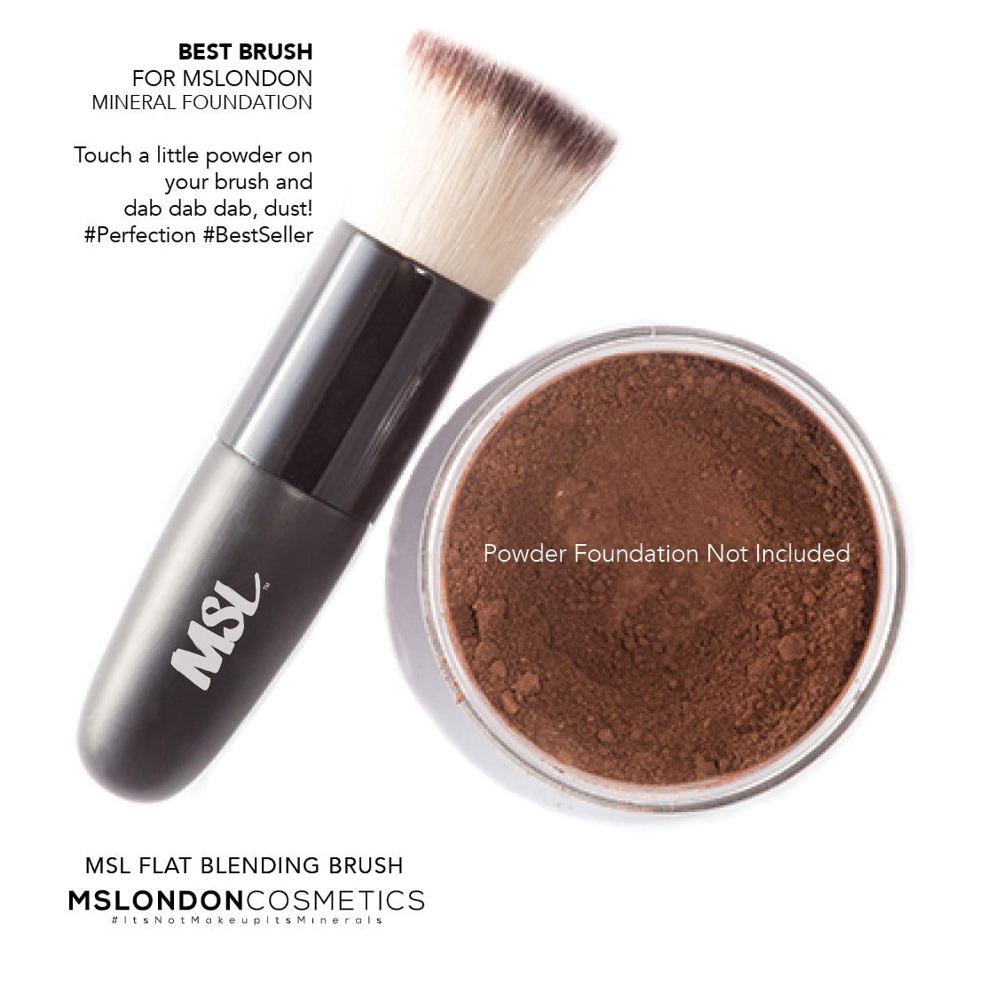MSL® ICONIC FLAT BLENDING BRUSH (OUT OF STOCK)