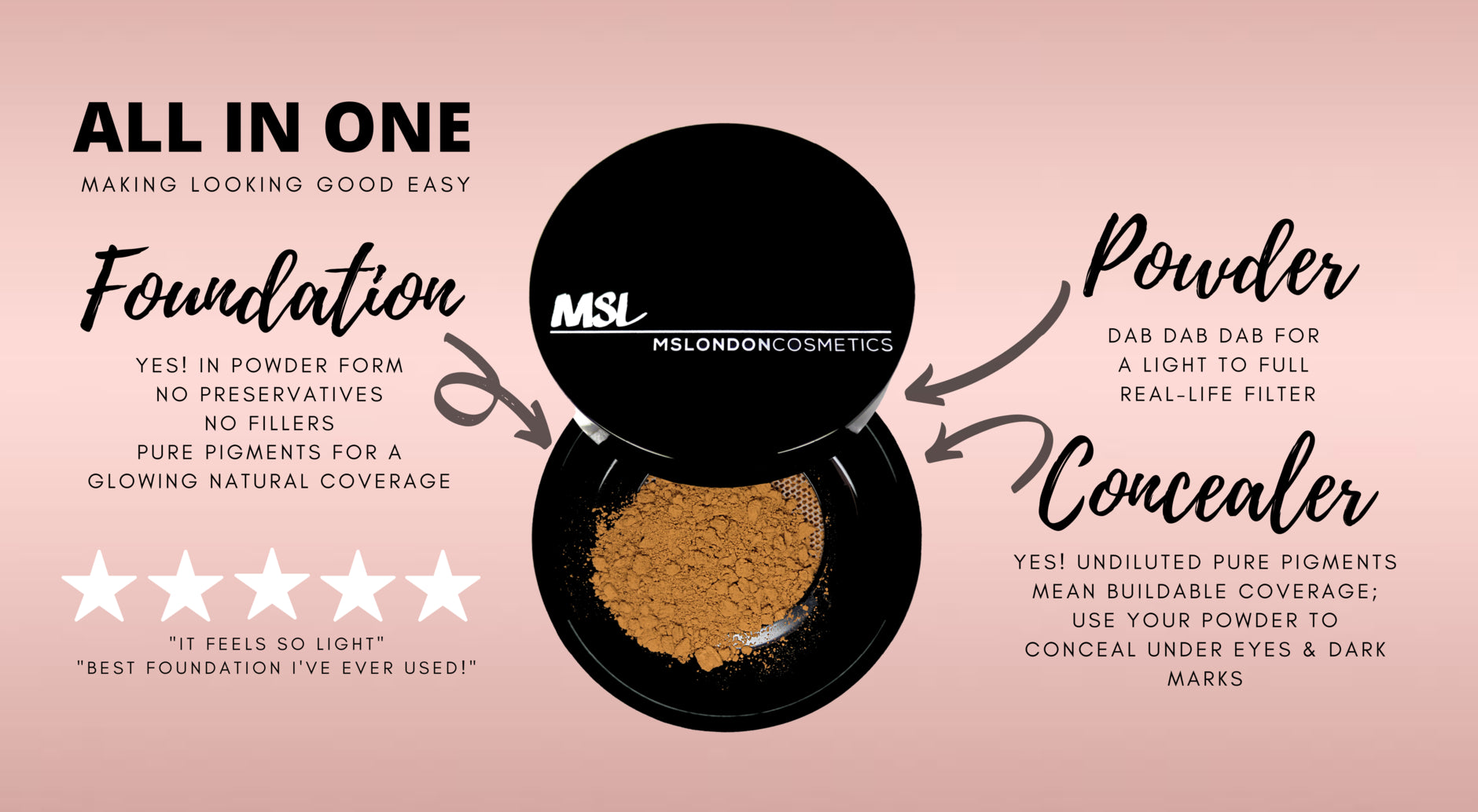MSL Mineral Makeup - click here to get more information