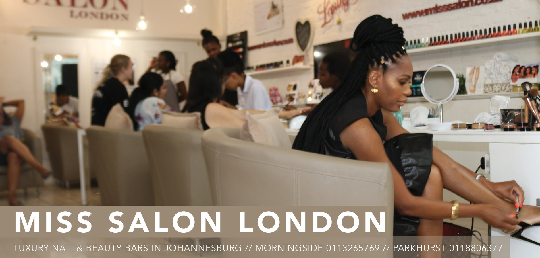 Miss Salon London Morningside Johannesburg 0113265769