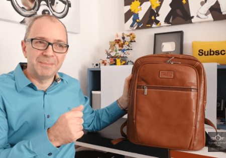 Dave Cryer of Geekanoids reviews our Montana Backpack