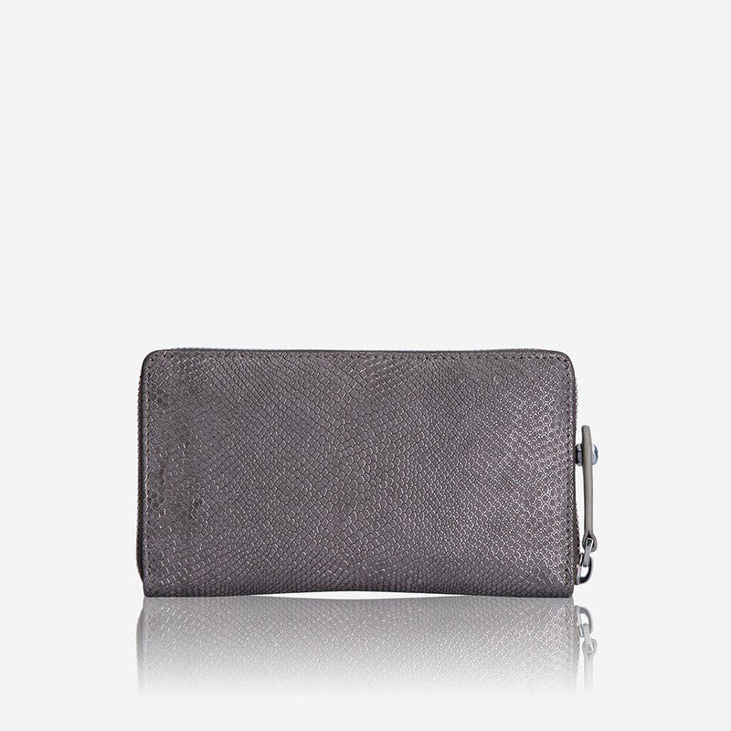 Medium Zip around Purse, Grey - Jekyll and Hide UK