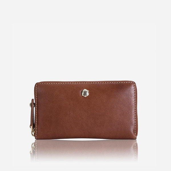 Women's under £300 - Medium Zip around Purse, Tan
