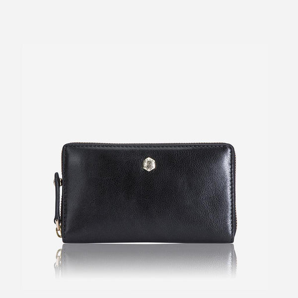 Women's under £300 - Medium Zip around Purse, Black