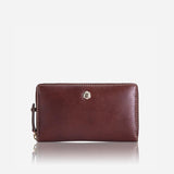 Medium Zip around Purse, Burgundy - Jekyll and Hide UK