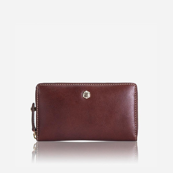Women's under £300 - Medium Zip around Purse, Burgundy