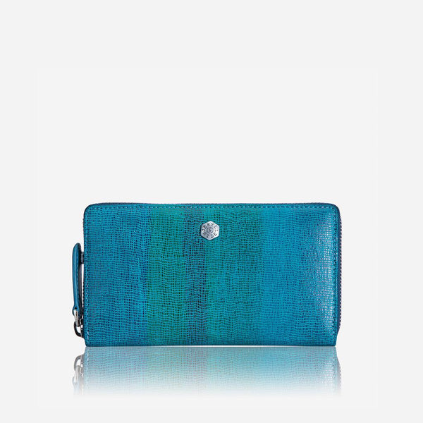 Women's under £300 - Medium Zip around Purse, Ocean