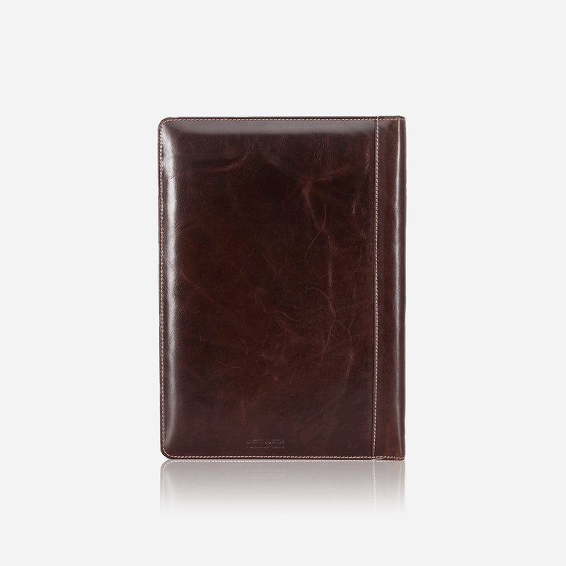 A4 Zip Around Folder, Coffee - Jekyll and Hide UK
