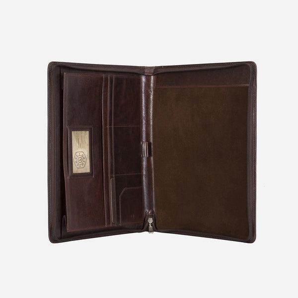 Women's under £300 - A4 Zip Around Folder, Coffee