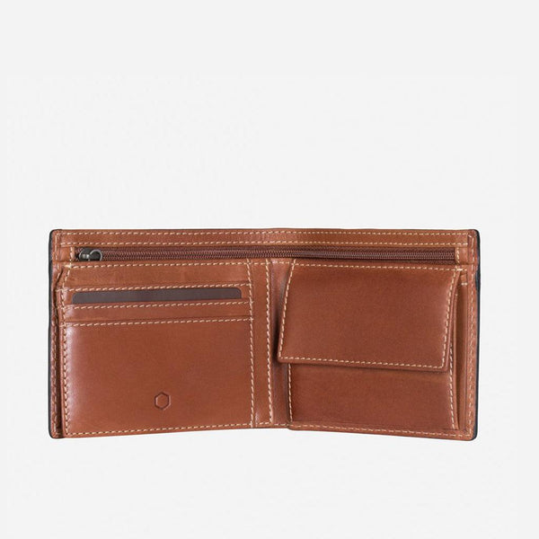 All Men's Wallets - Large Bifold Wallet With Coin