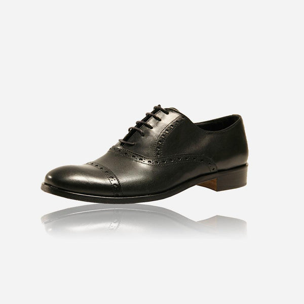 Men's Sale - Men's Detailed Brogue Lace Up