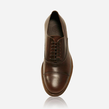 Men's Matte Leather Lace-Up