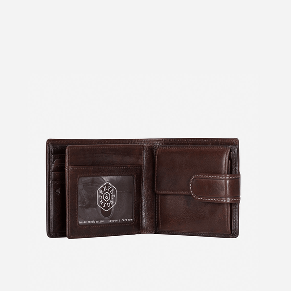 All Men's Wallets - Bifold Wallet With Coin And ID Window
