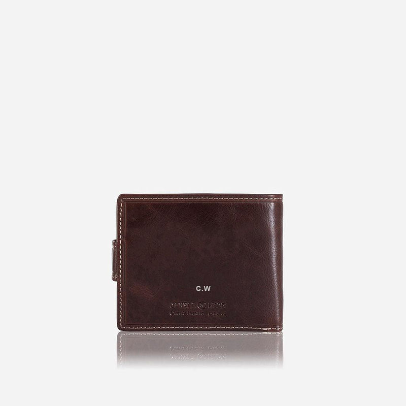 Bifold Wallet With Coin And ID Window
