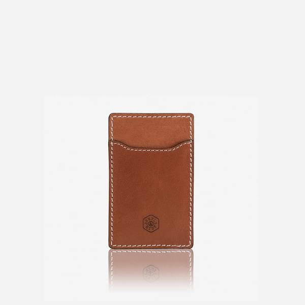 GIFTS UNDER £50 - Slim Upright Card Holder, Tan